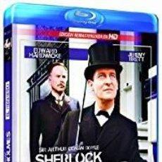 Series de TV en Blu Ray: SIR ARTHUR CONAN DOYLE: SHERLOCK HOLMES. Lote 93159895
