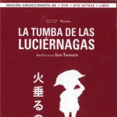 Series de TV en Blu Ray: LA TUMBA DE LAS LUCIERNAGAS (BLU-RAY + DVD + EXTRAS + LIBRO) (ED. COLECCIONISTA) (HOTARU NO NAKA). Lote 94569974