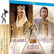 Series de TV en Blu Ray: PACK ISABEL + LA CORONA PARTIDA + CARLOS, REY EMPERADOR (BLU-RAY). Lote 94569978