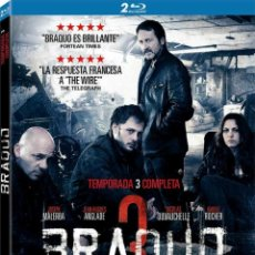 Series de TV en Blu Ray: BRAQUO - 3ª TEMPORADA (BLU-RAY). Lote 94569982