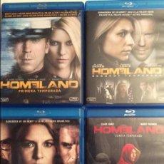 Series de TV en Blu Ray: HOMELAND TEMPORADAS 1, 2, 3, 4 BLU-RAY BLURAY. Lote 95678919