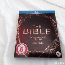 Series de TV en Blu Ray: THE BIBLE. 4 DISCOS BLU-RAY. BIBLIA. EPIC MINI-SERIES. ROBERT POWELL. 4 DISCOS INCLUYE CASTELLANO. Lote 121648554