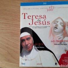 Series de TV en Blu Ray: TERESA DE JESÚS BLU-RAY. EDICIÓN ESPECIAL LIMITADA. SERIE. DOCUMENTALES. LIBRO. 3 DISCOS. Lote 110666735