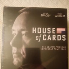 Series de TV en Blu Ray: HOUSE OF CARDS (TEMPORADAS 1, 2, 3, 4) (16 DISCOS BLURAY). Lote 101565611
