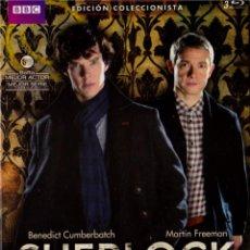Series de TV en Blu Ray: SHERLOCK - TEMPORADAS 1 Y 2 (ED. COLECCIONISTA) (BLU-RAY). Lote 102626494