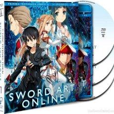 Series de TV en Blu Ray: SWORD ART ONLINE : 1ª TEMPORADA - 1ª PARTE (BLU-RAY). Lote 102847428