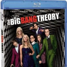 Series de TV en Blu Ray: THE BIG BANG THEORY - 6ª TEMPORADA (BLU-RAY). Lote 102847504
