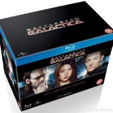Series de TV en Blu Ray: BATTLESTAR GALACTICA (REIMAGINADA) - SERIE COMPLETA 20 BLURAY - EDICION DE LUJO REINO UNIDO. Lote 104113187