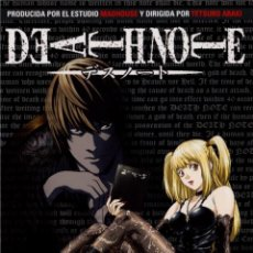 Series de TV en Blu Ray: DEATH NOTE - BOX 2 (EPISODIOS 20 A 37) - EDICION COLECCIONISTA (BLU-RAY) (DESU NOTO). Lote 106976790