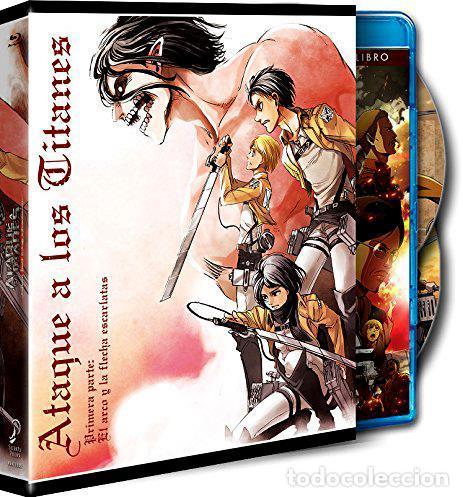 ATAQUE A LOS TITANES : LA PELÍCULA - 1ª PARTE (ED. COLECCIONISTA) (BLU-RAY) (Series TV en Blu -Ray )
