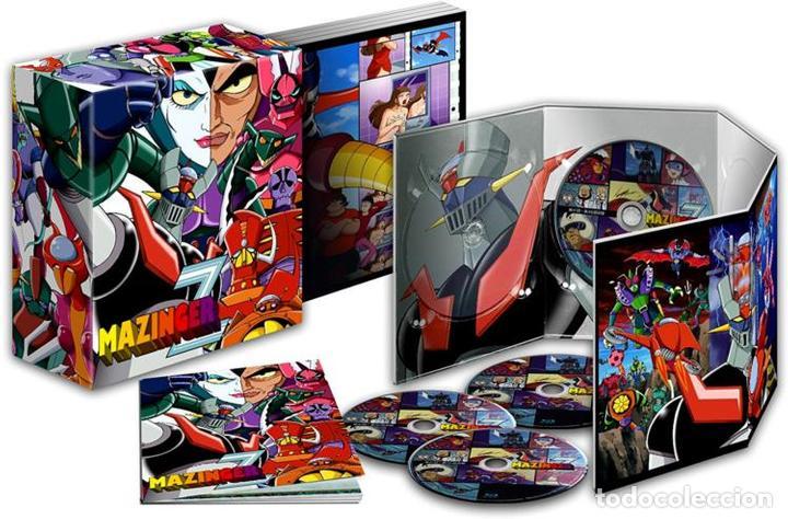 MAZINGER Z - BOX 1 (EPISODIOS 1 A 46) (BLU-RAY) (Series TV en Blu -Ray )