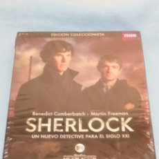 Series de TV en Blu Ray: BLURAY. SHERLOCK. TEMPORADA 1. PRECINTADA.. Lote 109079050