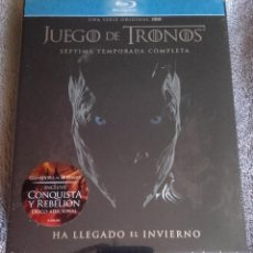 Series de TV en Blu Ray: JUEGO DE TRONOS 7 SEPTIMA TEMPORADA BLURAY BLU-RAY GAMES OF THRONES SERIE TV. Lote 109372343