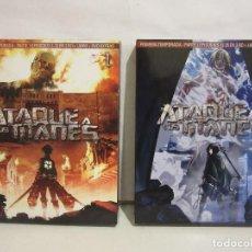 Series de TV en Blu Ray: ATAQUE DE TITANES - PRIMERA TEMPORADA COMPLETA - 6 X BLURAY + 2 DVD, LIBRO, EXTRAS - BOX 1 Y 2. Lote 111415559