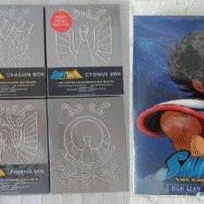 Series de TV en Blu Ray: LOTE SAGA BLU-RAY CABALLEROS DEL ZODIACO (6 PACKS) + BOX PELÍCULAS ¡NUEVOS!. Lote 111783703