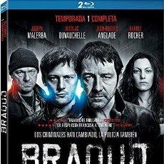 Series de TV en Blu Ray: BRAQUO - 1ª TEMPORADA (BLU-RAY). Lote 113747484