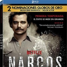 Series de TV en Blu Ray: NARCOS - 1ª TEMPORADA (BLU-RAY). Lote 113747492