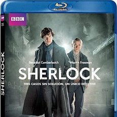 Series de TV en Blu Ray: SHERLOCK - 2ª TEMPORADA (BLU-RAY). Lote 113747596