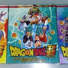 Series de TV en Blu Ray: ESTUCHES 1+2+3 EN BLU-RAY DE DRAGON BALL SUPER EDITADOS EN ESPAÑA POR SELECTA VISIÓN (PRECINTADOS). Lote 115050311
