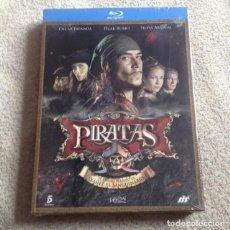 Series de TV en Blu Ray: PIRATAS BLU RAY CON OSCAR JAENADA Y PILAR RUBIO **SERIE COMPLETA EN 3 DISCOS** *NUEVA Y PRECINTADA*. Lote 117383367