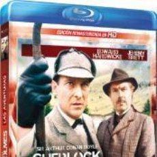 Series de TV en Blu Ray: SHERLOCK HOLMES - LAS AVENTURAS (BLU-RAY). Lote 115502403