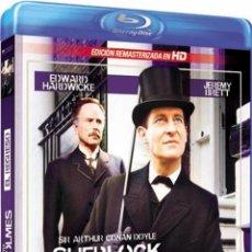 Series de TV en Blu Ray: SHERLOCK HOLMES : EL REGRESO (BLU-RAY). Lote 115502407