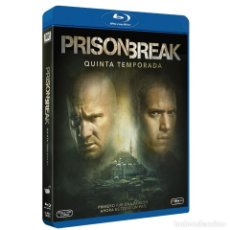 Series de TV en Blu Ray: BLU-RAY PRISON BREAK (TEMPORADA 5) NUEVO Y PRECINTADO. Lote 120925583