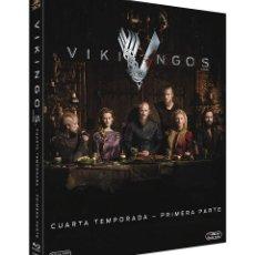Series de TV en Blu Ray: BLU-RAY VIKINGOS (TEMPORADA CUATRO - PRIMERA PARTE) NUEVO Y PRECINTADO. Lote 120925671
