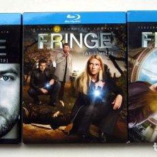 Series de TV en Blu Ray: FRINGE (AL LÍMITE). TEMPORADAS 1, 2 Y 3. EDICIÓN ESPAÑOLA.. Lote 120967351