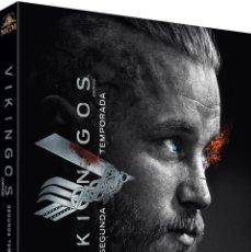 Series de TV en Blu Ray: BLU-RAY VIKINGOS (TEMPORADA 2) NUEVO Y PRECINTADO. Lote 121024547