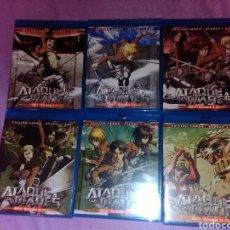 Series de TV en Blu Ray: ATAQUE A LOS TITANES TEMPORADA 1 COMPLETA BLURAY DVD ATTACK ON TITAN SHINGEKI NO KYOJIN. Lote 121109724