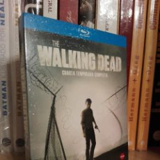 Series de TV en Blu Ray: THE WALKING DEAD CUARTA TEMPORADA BLURAY PRECINTADA. Lote 121217895