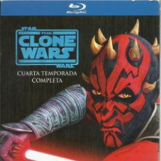 Series de TV en Blu Ray: STAR WARS: CLONE WARS TEMPORADA 4 COMPLETA (BLU-RAY). Lote 123838124