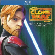 Series de TV en Blu Ray: STAR WARS THE CLONE WARS: QUINTA TEMPORADA COMPLETA (BLU-RAY). Lote 123838484