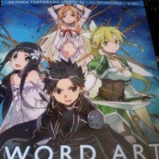 Series de TV en Blu Ray: SWORD ART ON LINE / PRIMERA TEMPORADA / PARTE 2. Lote 121870731