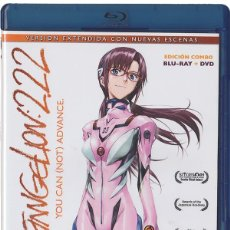 Series de TV en Blu Ray: EVANGELION 2.22 : YOU CAN (NOT) ADVANCE (BLU-RAY + DVD). Lote 126926514