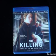 Series de TV en Blu Ray: THE KILLIN CRONICA DE UN ASESINO PRIMERA TEMPORADA VOL. 2 DOS DISCOS- BLU-RAY COMO NUEVOS. Lote 127846767