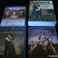 Series de TV en Blu Ray: BRONTE COLLECTION CUMBRES BORRASCOSA, JANE EYRE, LA INQUILINA DE WILDFELL HALL - BLU-RAY COMO NUEVOS. Lote 127947039