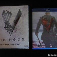 Series de TV en Blu Ray: VIKINGOS TEMPORADAS 1 + 2 Y 3 - BLU-RAY COMO NUEVOS. Lote 127947647