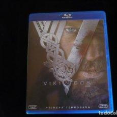 Series de TV en Blu Ray: VIKINGOS TEMPORADA 1 - BLU-RAY COMO NUEVOS. Lote 127947815