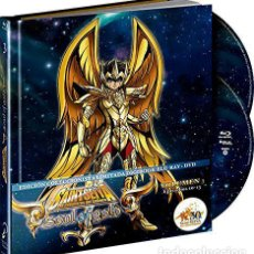 Series de TV en Blu Ray: SAINT SEIYA - SOUL OF GOLD - VOL. 3 (BLU-RAY + DVD + EXTRAS) (ED. DIGIBOOK COLECCIONISTA). Lote 127984395