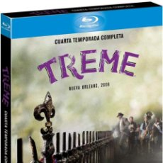 Series de TV en Blu Ray: TREME - 4ª TEMPORADA (BLU-RAY). Lote 129402832
