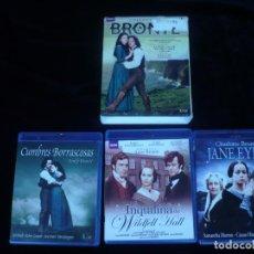 Series de TV en Blu Ray: BRONTE, CUMBRES BORRASCOSAS + JANE EYRE + LA INQUILINA DE WILDFELL HALL - BLURAY COMO NUEVOS. Lote 130358942