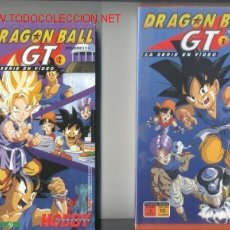 Series de TV: DRAGON BALL GT LA SERIE EN VIDEO VHS-ORIGINAL-. Lote 24564897