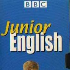 Series de TV: VHS ORIGINAL - JUNIOR ENGLISH - VIDEO 1 - BBC. Lote 5594605