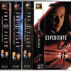 Series de TV: LOTE 2 CINCO PELICULAS EXPEDIENTE X. Lote 26890418