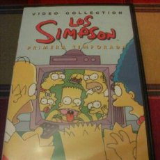 Cine: THE SIMPSONS Nº 1 VHS. Lote 107641428