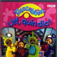 Series de TV: VHS - TELETUBBIES - UFF, QUIN DIA! - EN CATALÁN. Lote 6461259