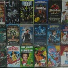 Series de TV: LOTE 43 PELÍCULAS VIDEO VHS (FUBBER, TOY STORY 2, JURASIC PARK, MEN IN BLACK, PEQUEÑOS GUERREROS...). Lote 7089982