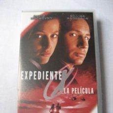 Series de TV: EXPEDIENTE X: ENFRENTATE AL FUTURO (LA PELICULA) - VHS -. Lote 27583603